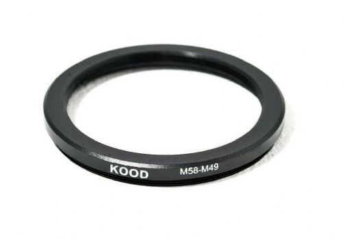 Stepping Ring 58-49mm 58mm to 49mm Step Down Ring Stepping Rings 58mm-49mm